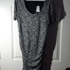 Le Chateau - BNWT Charcoal Dress  XXL